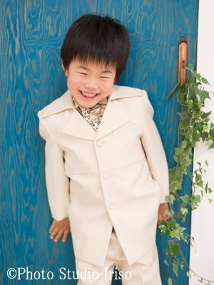 三歳 五歳 七五三 洋装 タキシード 白 アイボリー かっこいい