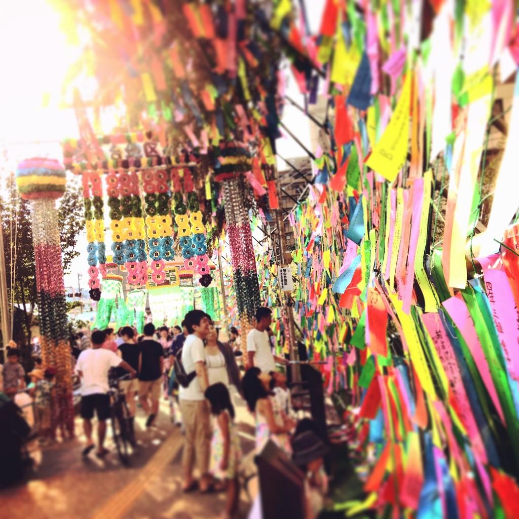 狭山市の七夕祭り