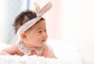 ニューボーンフォト 新生児 赤ちゃん 衣裳 うさぎ pomponner