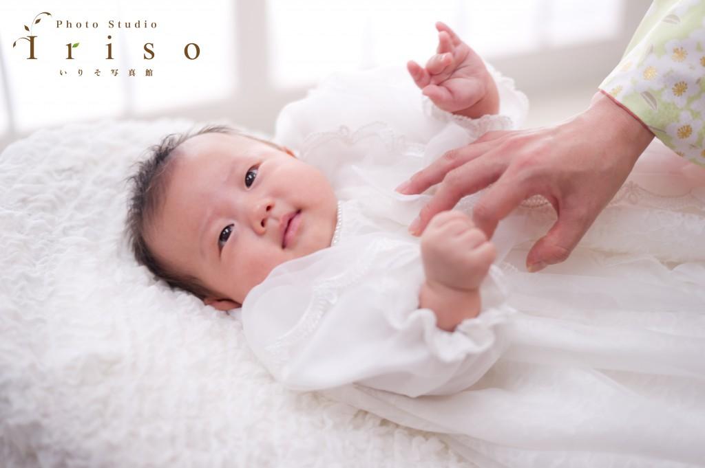 お宮参り 百日記念 赤ちゃん