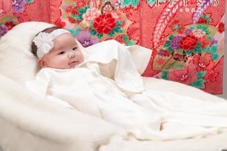 お宮参り 百日記念 赤ちゃん お祝い着 衣裳