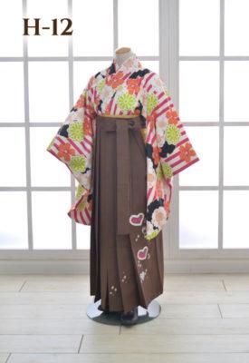 女の子 袴 着物 卒業袴