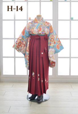 女性 袴 卒業 着物