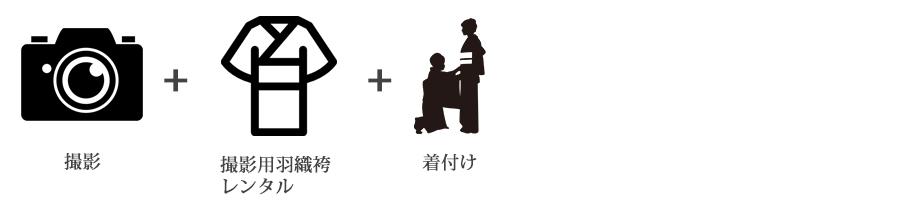 男性羽織袴撮影プラン