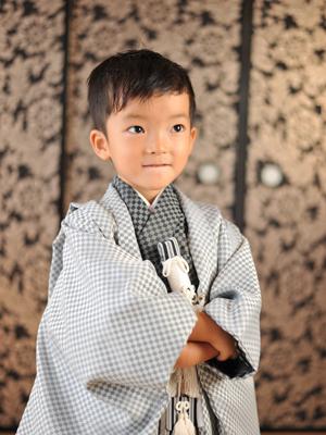 $いりそ写真館 Official Blog!?-七五三 五歳 袴 家族写真