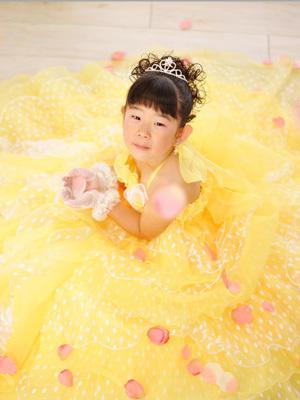 いりそ写真館 Official Blog-七五三 ドレス撮影 七歳 7才 所沢入間狭山